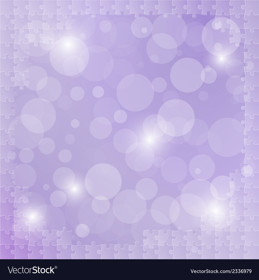 Violet background with puzzle vector | Price: 1 Credit (USD $1)