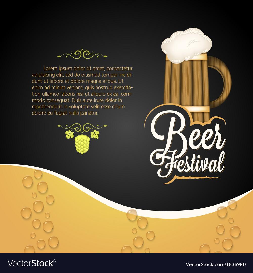 Beer festival vector | Price: 1 Credit (USD $1)