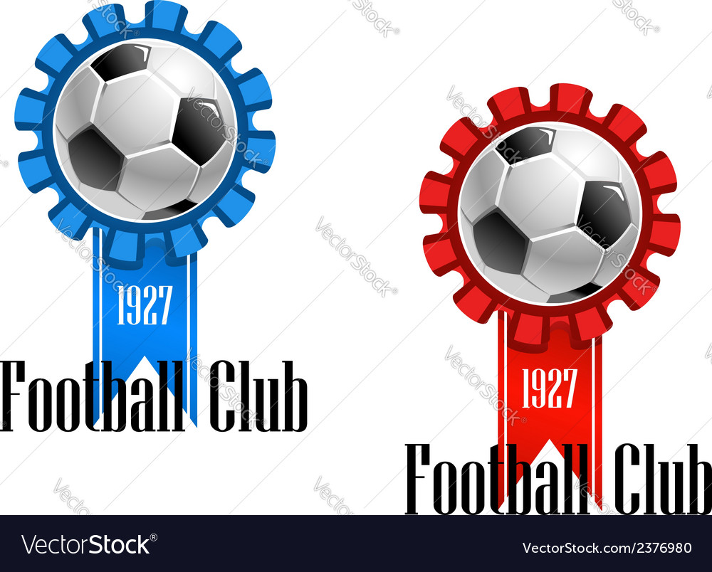 Football club emblem vector | Price: 1 Credit (USD $1)