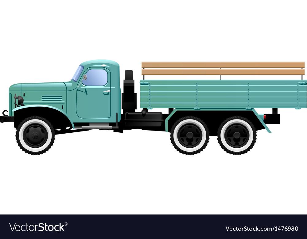 Lorry vector | Price: 1 Credit (USD $1)
