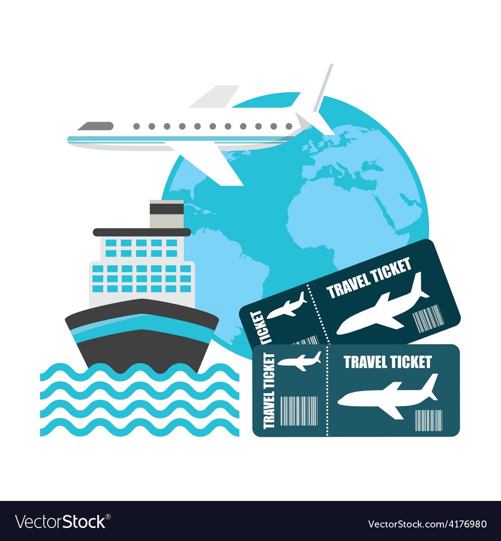 Travel concept vector | Price: 1 Credit (USD $1)