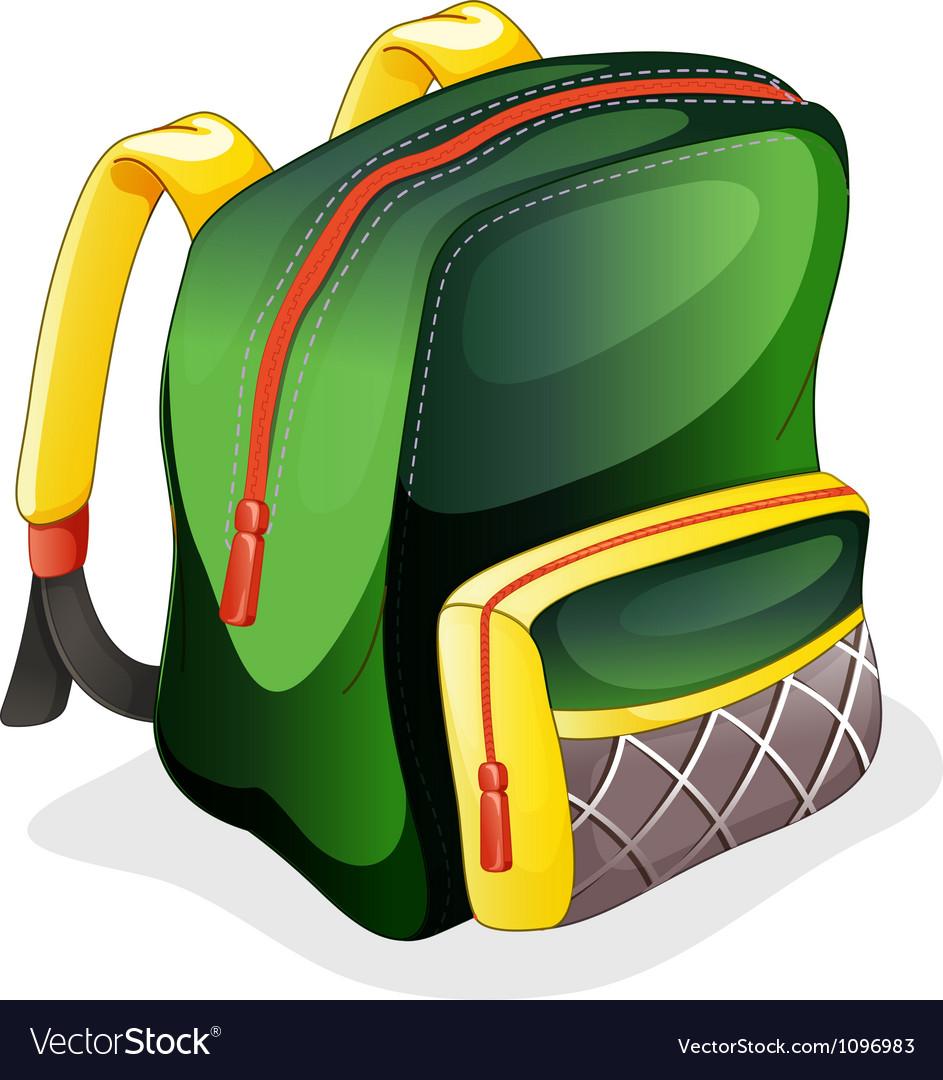 A school bag vector | Price: 1 Credit (USD $1)