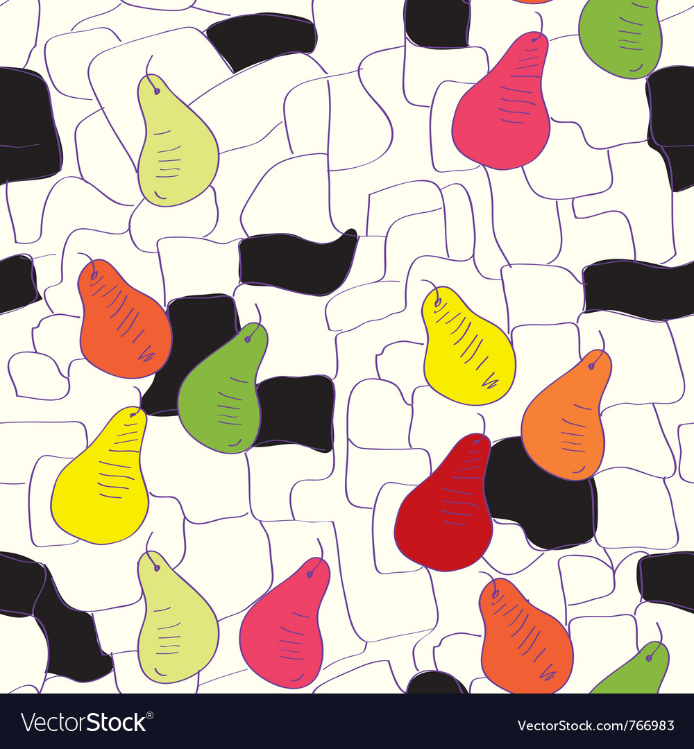 Abstract pear background vector | Price: 1 Credit (USD $1)