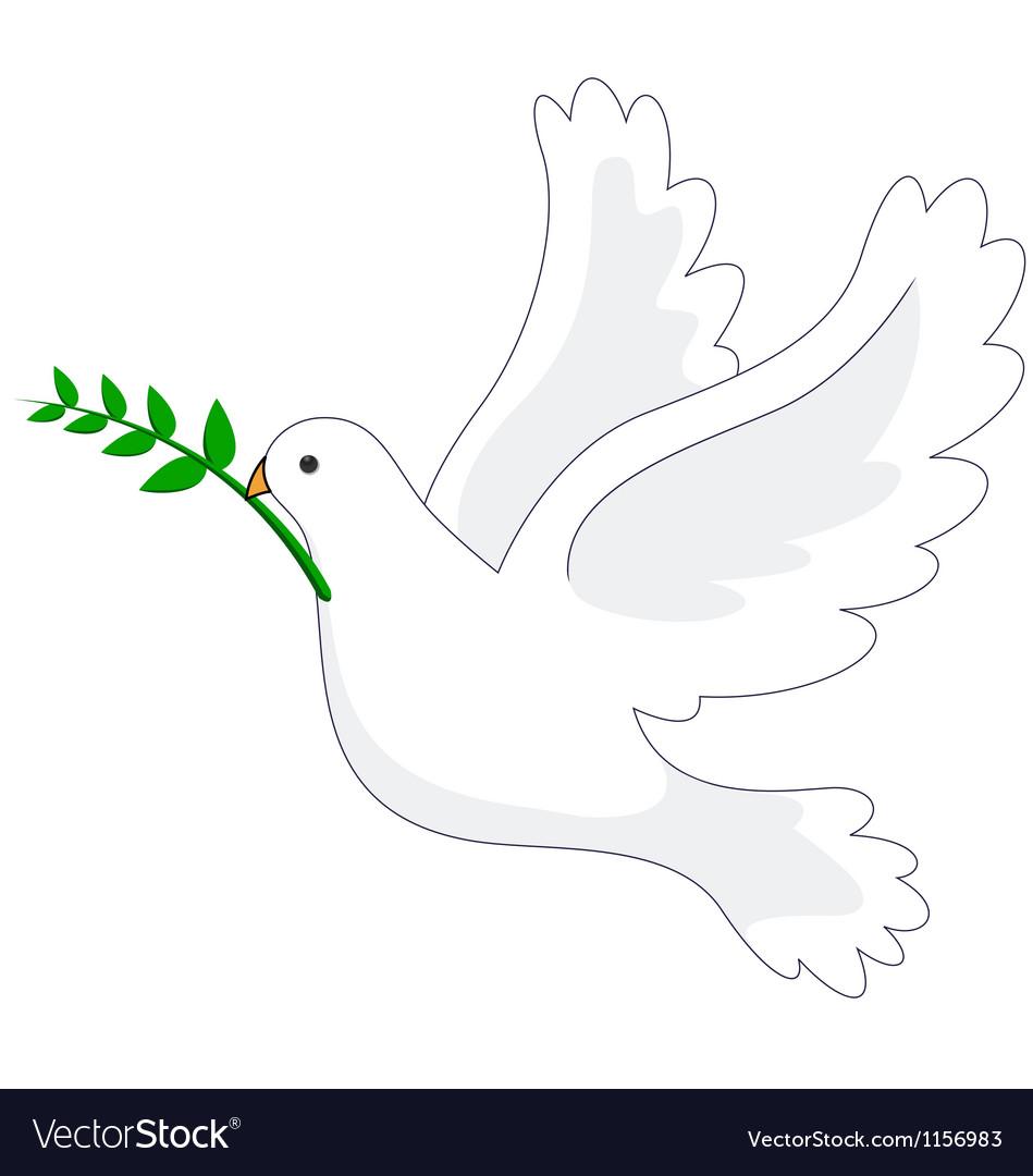 Dove peace vector | Price: 1 Credit (USD $1)