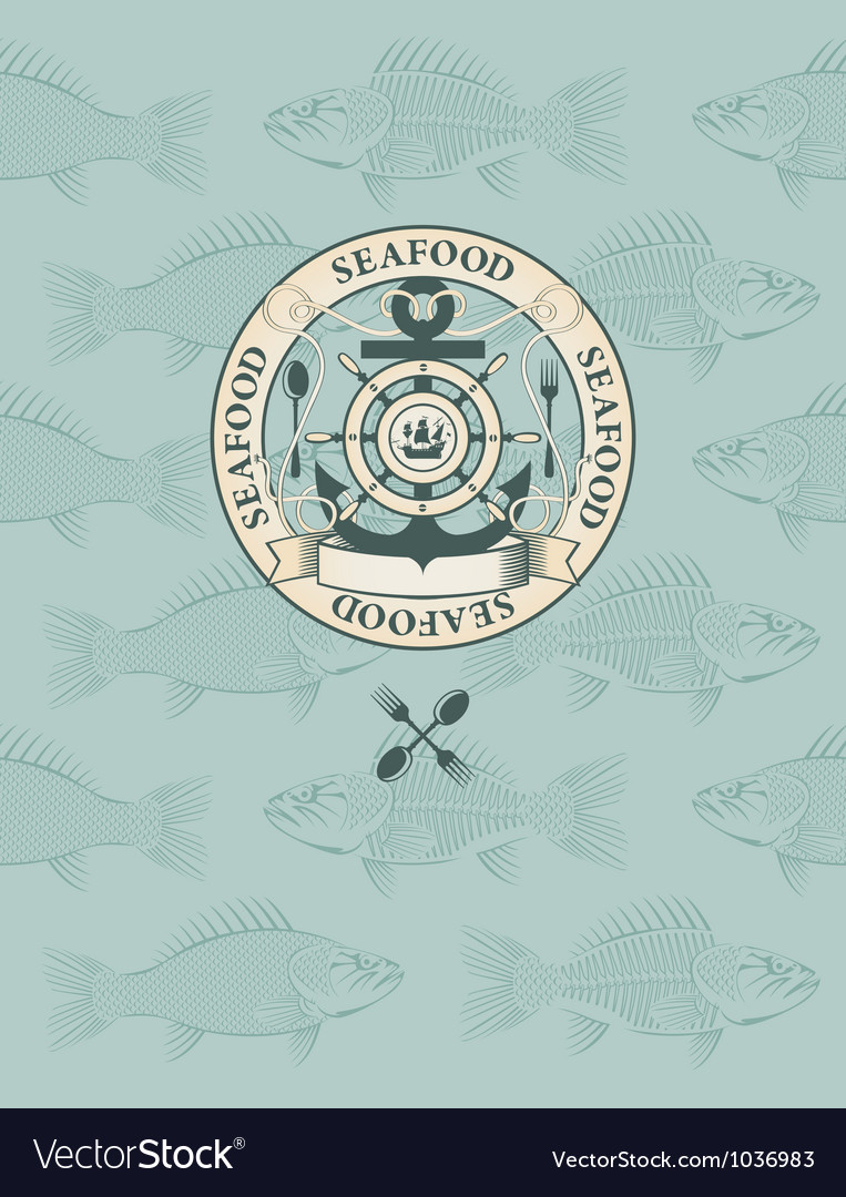 Fish restaurant vector | Price: 1 Credit (USD $1)