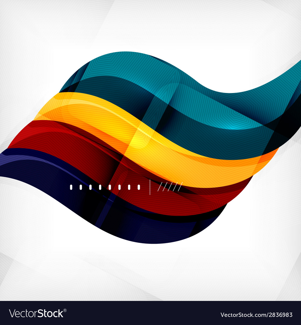 Futuristic braid looking wave background vector | Price: 1 Credit (USD $1)