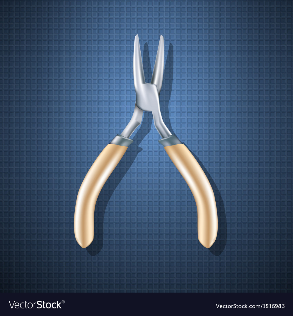 Pliers vector | Price: 3 Credit (USD $3)