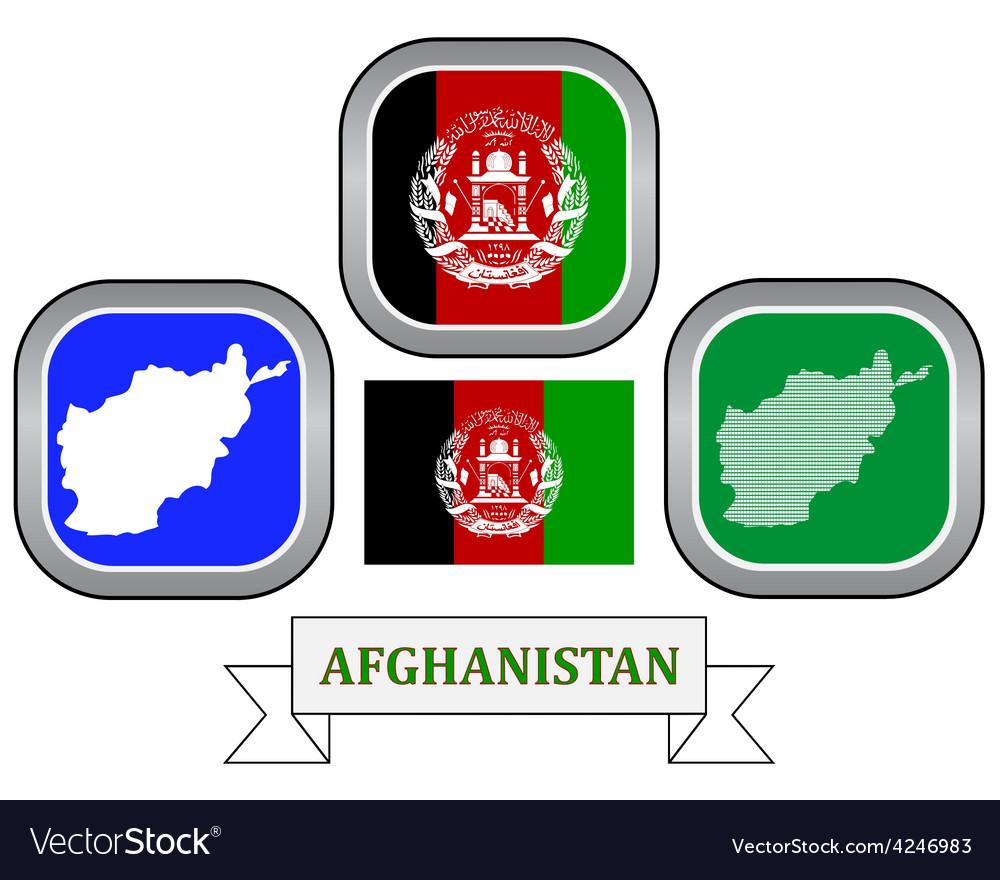 Symbol of afghanistan vector | Price: 1 Credit (USD $1)