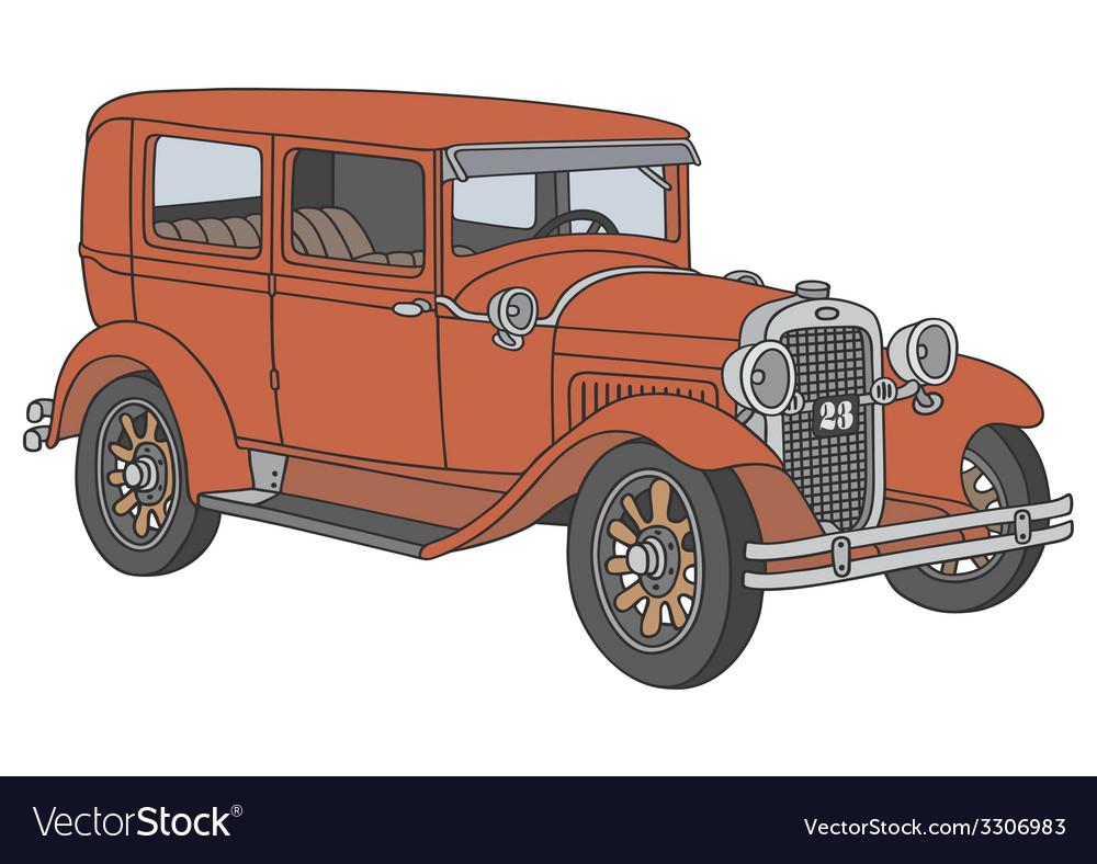 Vintage car vector   Price: 1 Credit (USD $1)