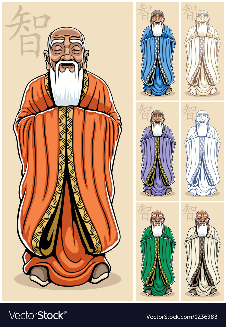 Wise man vector | Price: 3 Credit (USD $3)