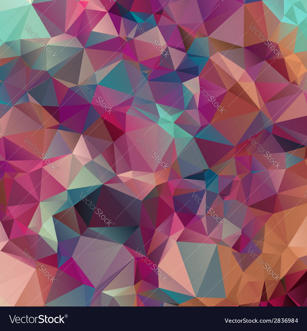 Abstract triangles background for design vector   Price: 1 Credit (USD $1)