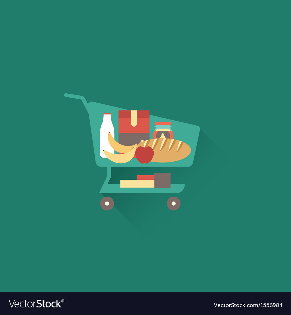 Shoping cart vector | Price: 1 Credit (USD $1)