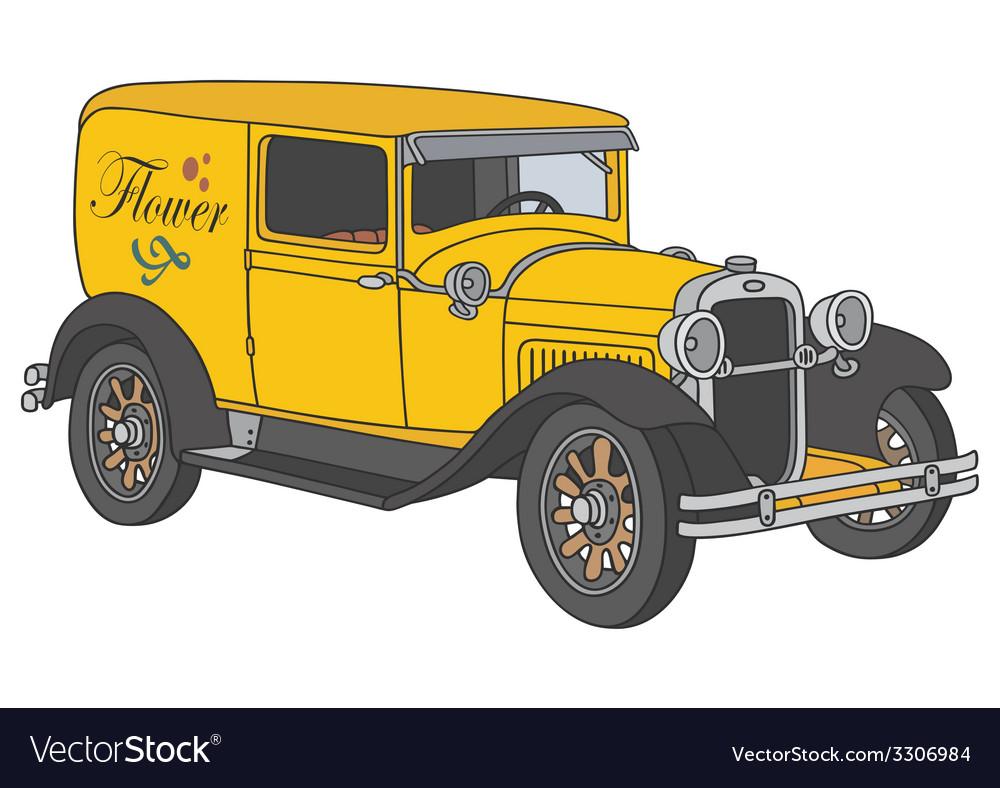 Vintage van vector   Price: 1 Credit (USD $1)