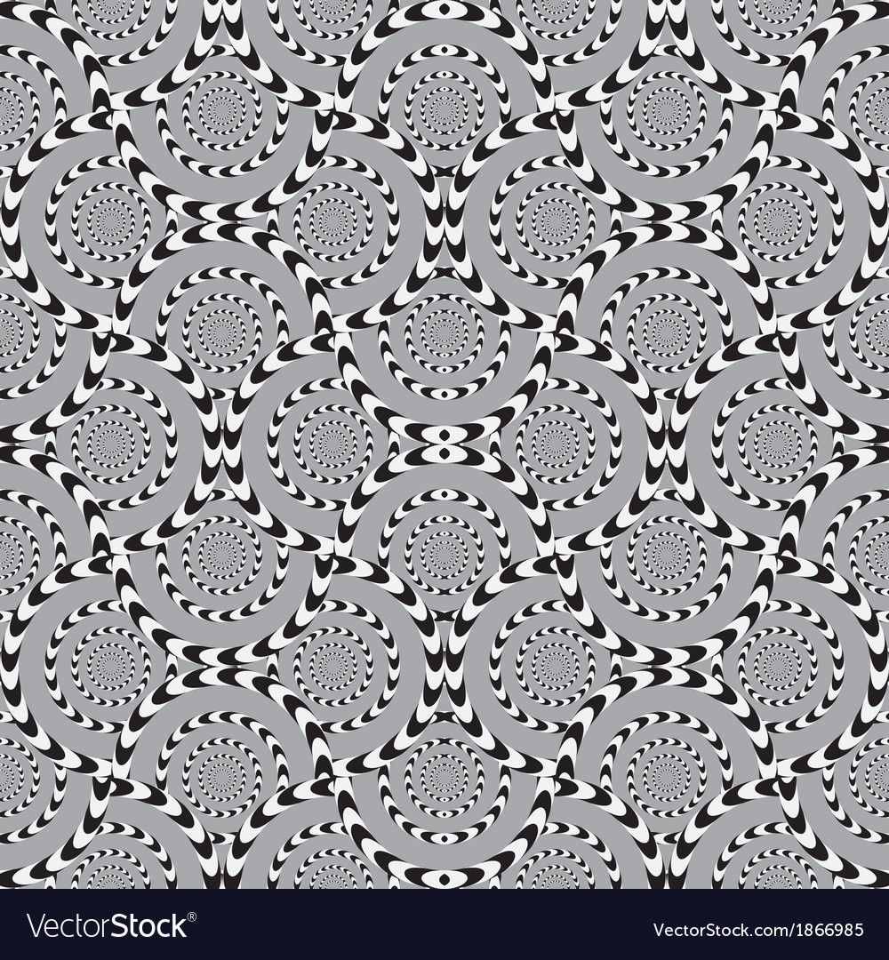 Optical seamless pattern background vector | Price: 1 Credit (USD $1)