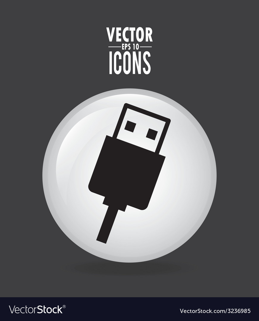 Usb design vector | Price: 1 Credit (USD $1)