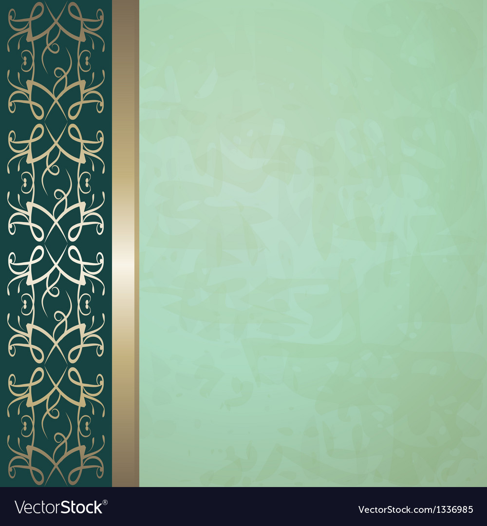 Vintage background with a border vector | Price: 1 Credit (USD $1)
