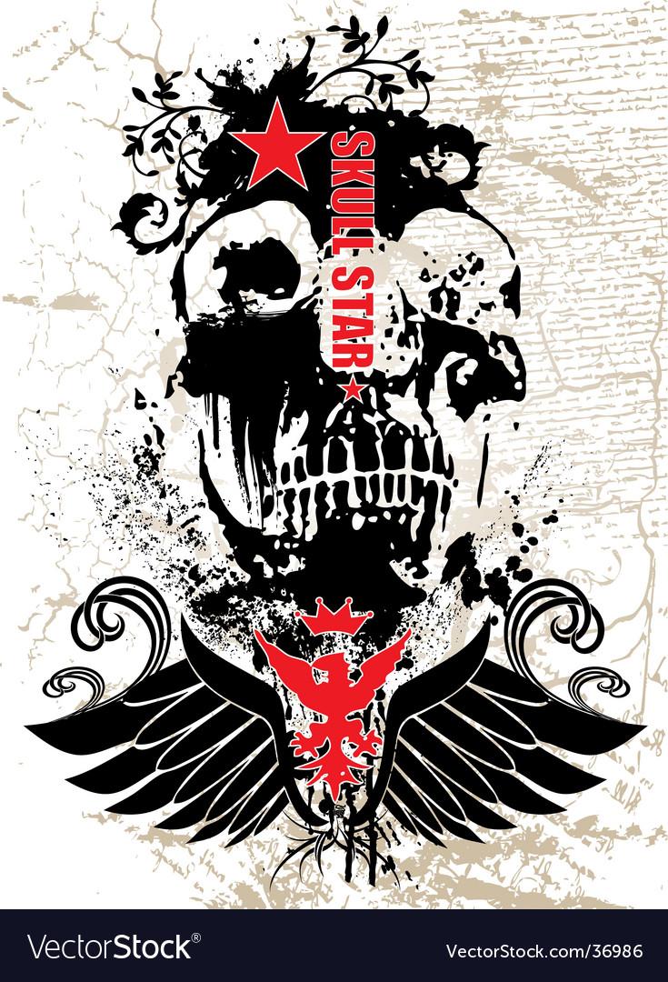 Black skull vector   Price: 1 Credit (USD $1)