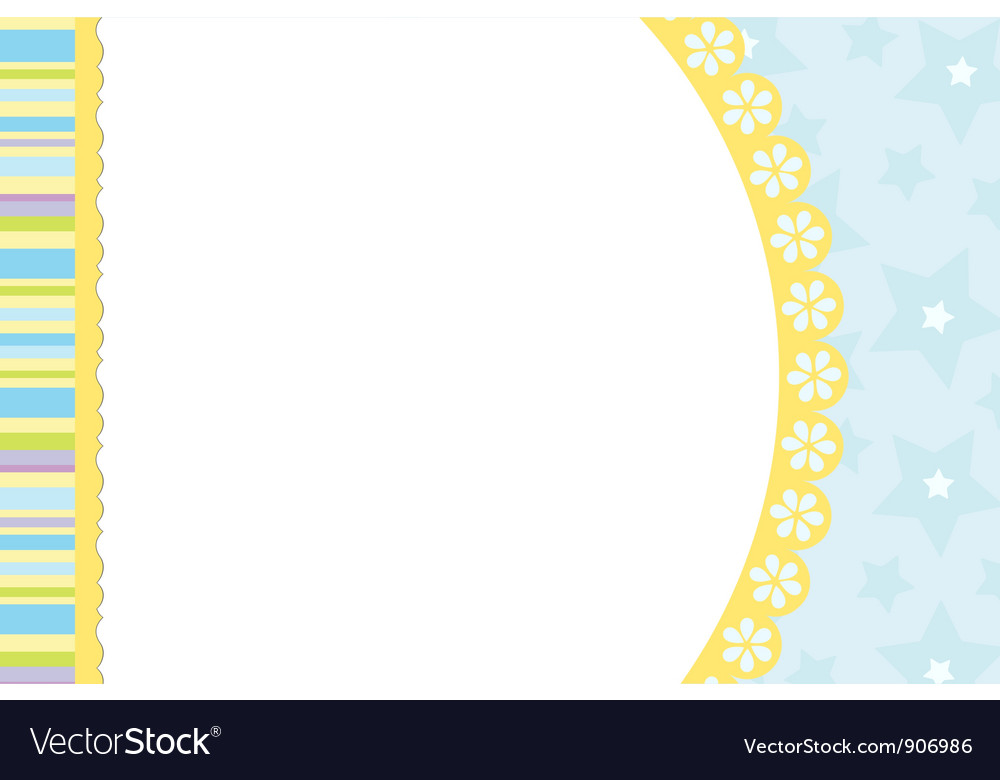 Blank template for greetings card vector   Price: 1 Credit (USD $1)