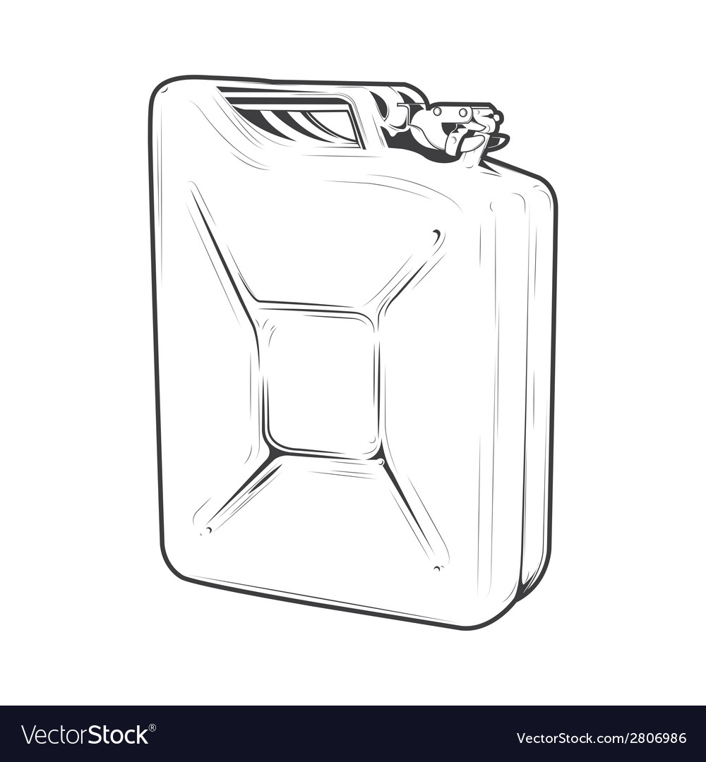 Jerrycan vector | Price: 1 Credit (USD $1)