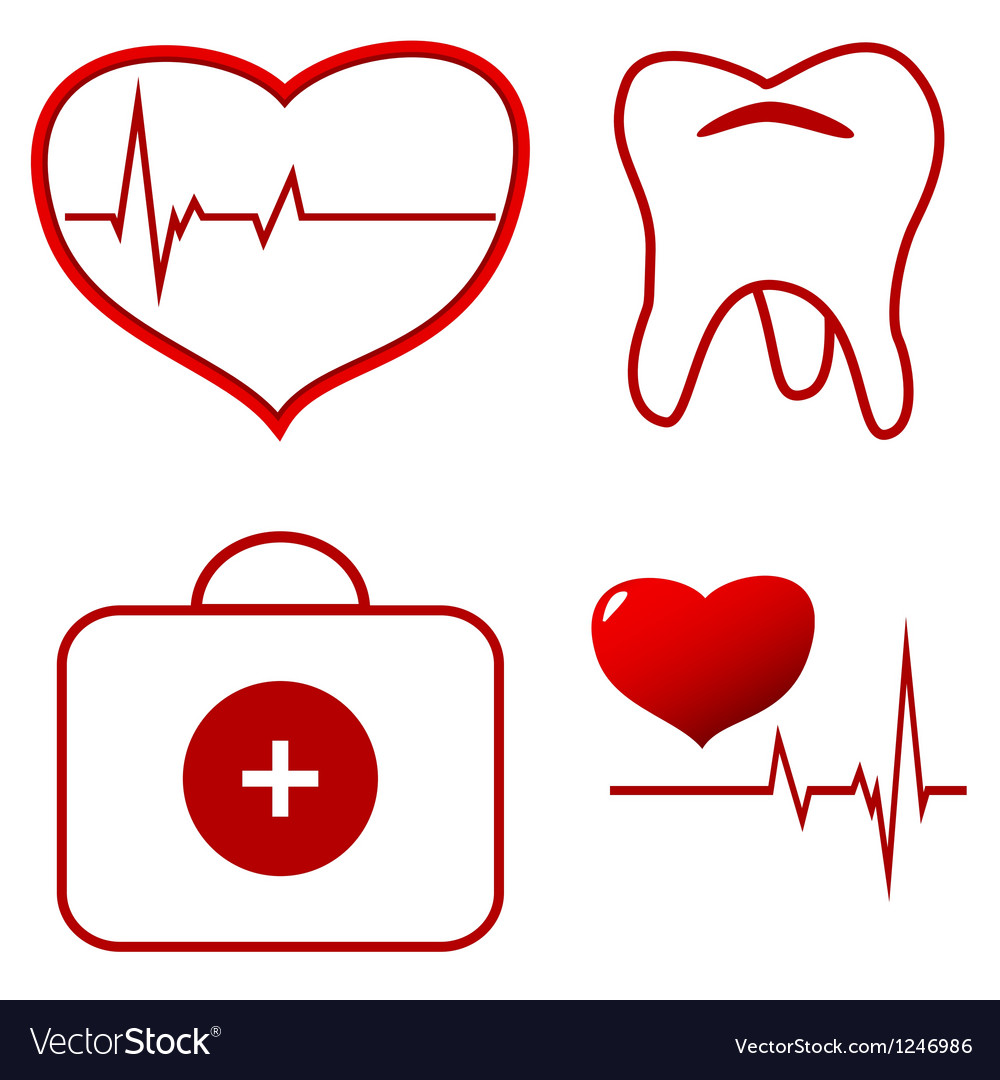 Medical set vector | Price: 1 Credit (USD $1)