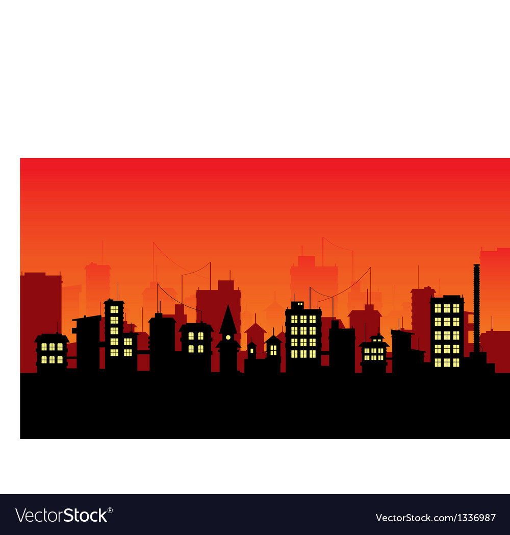 City 3 vector | Price: 1 Credit (USD $1)