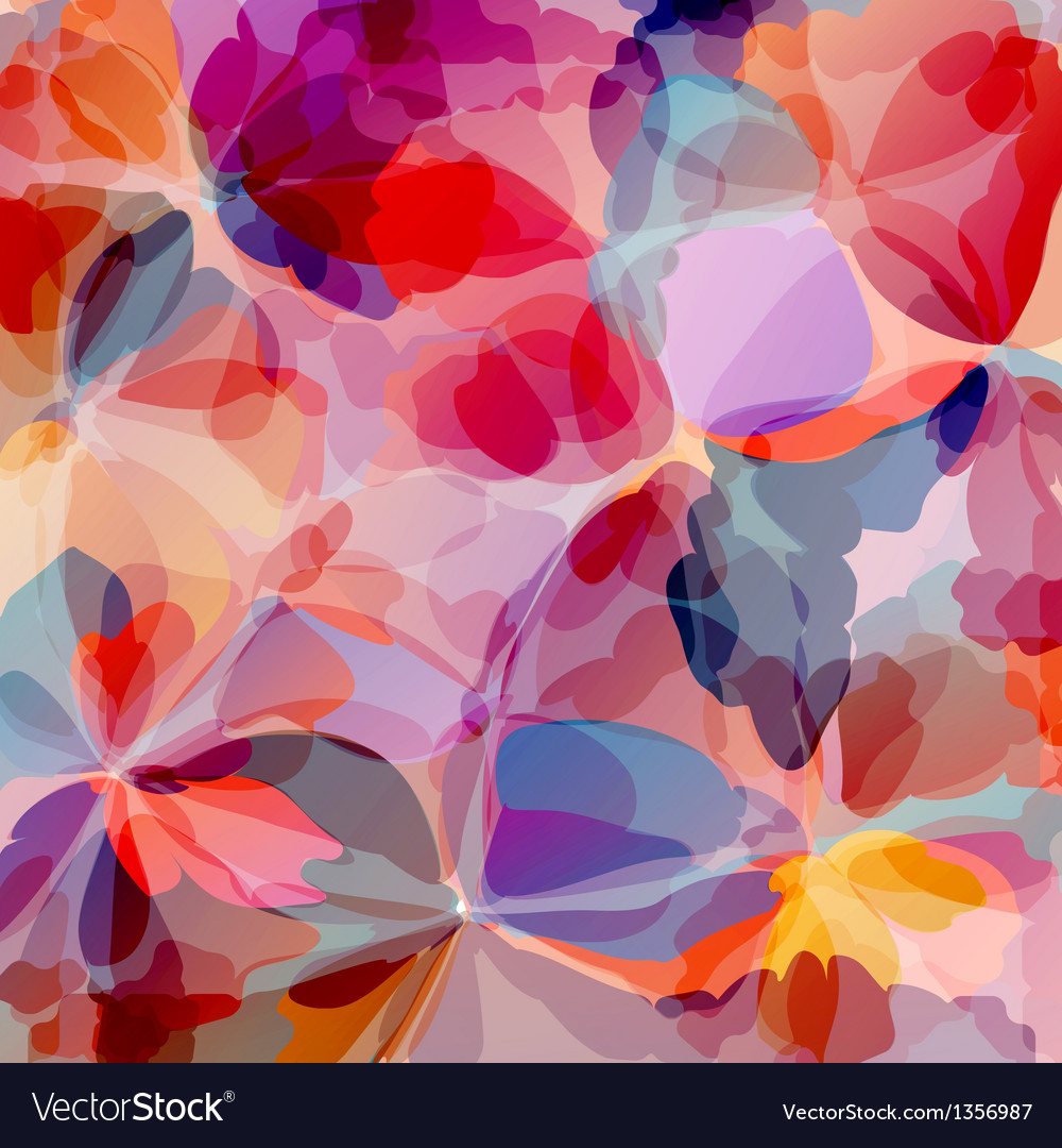 Multicolored background watercolor painting vector | Price: 1 Credit (USD $1)