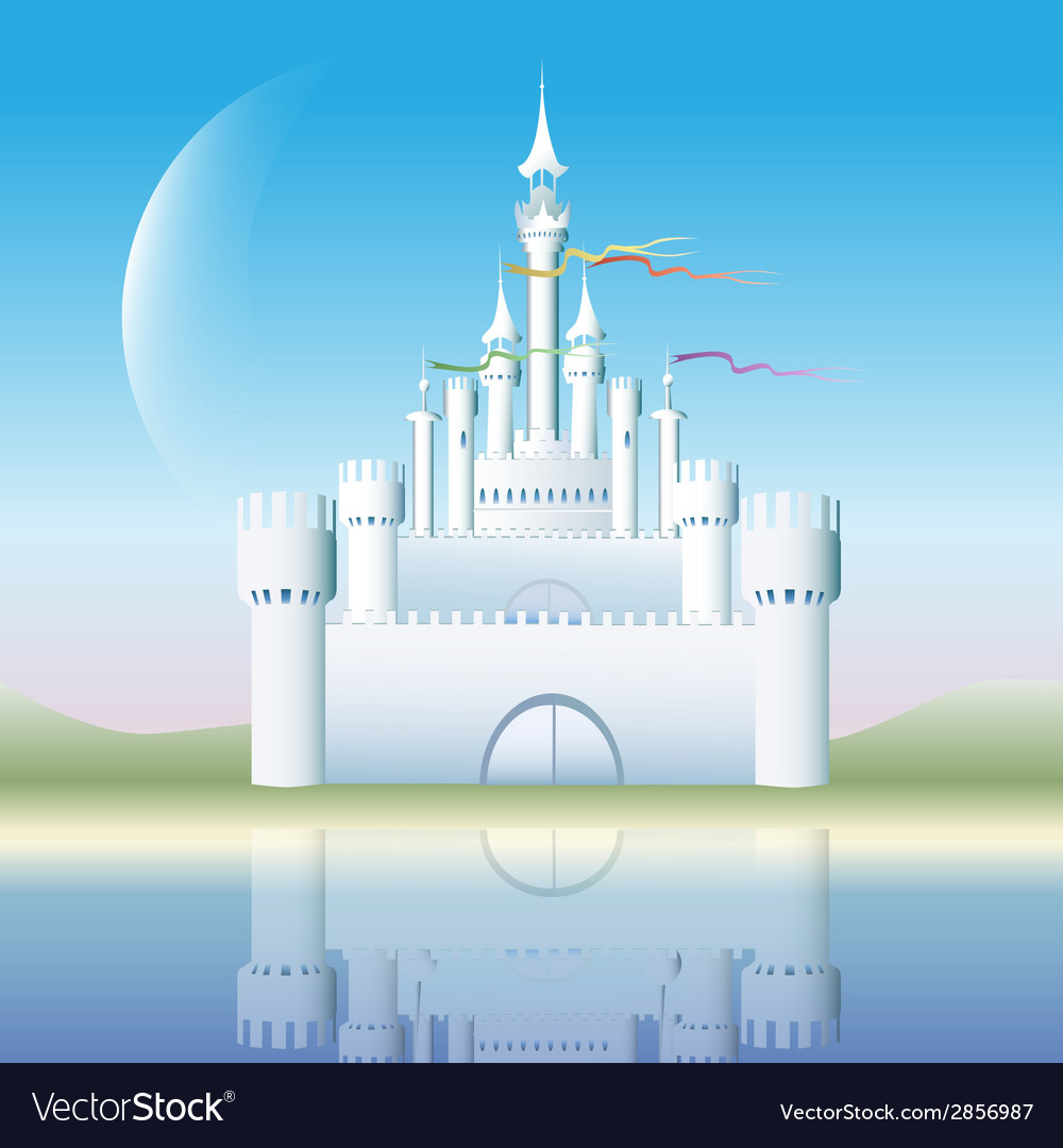 The white castle vector | Price: 1 Credit (USD $1)