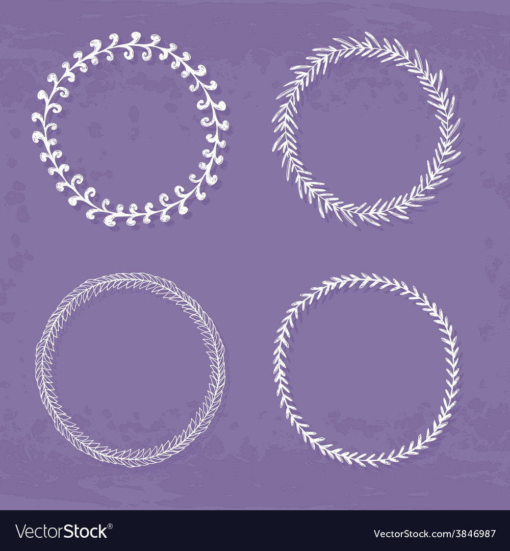 Wreaths collection vector | Price: 1 Credit (USD $1)