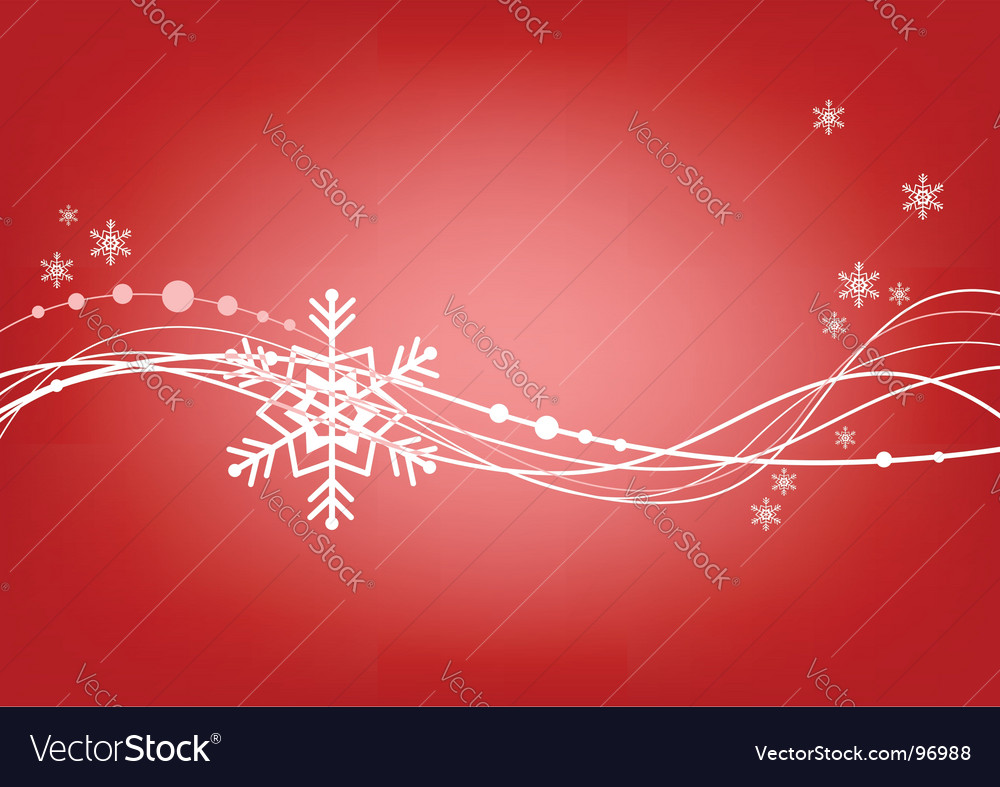 Abstract blue background with snowflake vector | Price: 1 Credit (USD $1)