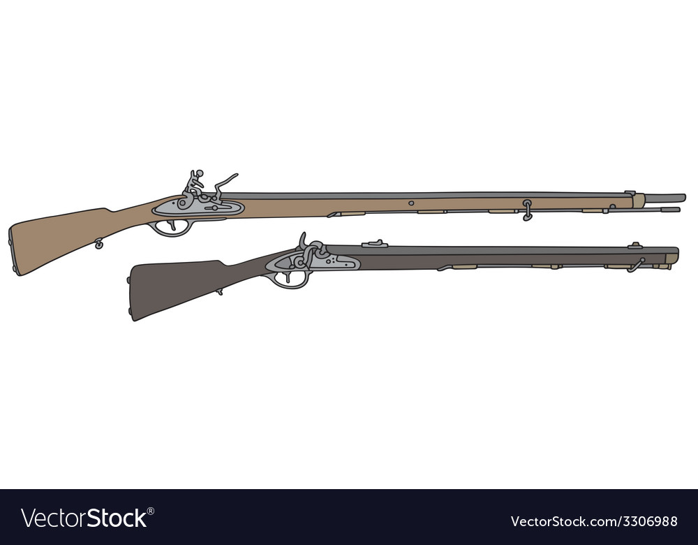 Old rifle vector | Price: 1 Credit (USD $1)