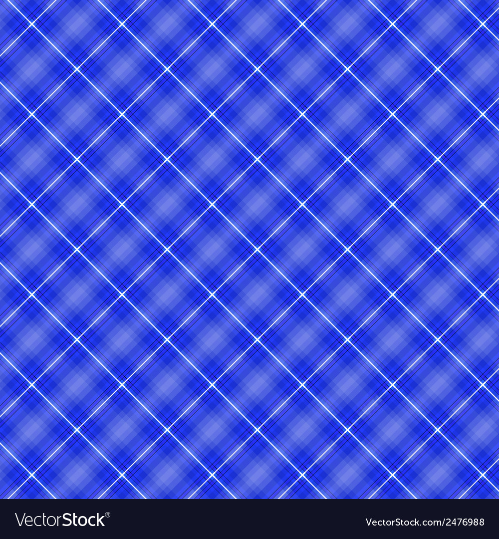 Seamless cross blue shading diagonal pattern vector | Price: 1 Credit (USD $1)