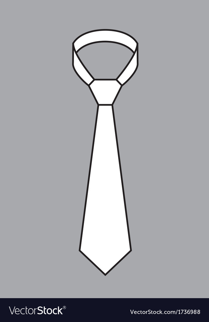 Tie vector | Price: 1 Credit (USD $1)