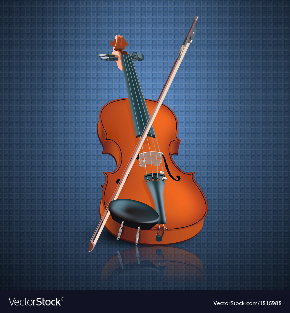 Violin vector | Price: 3 Credit (USD $3)