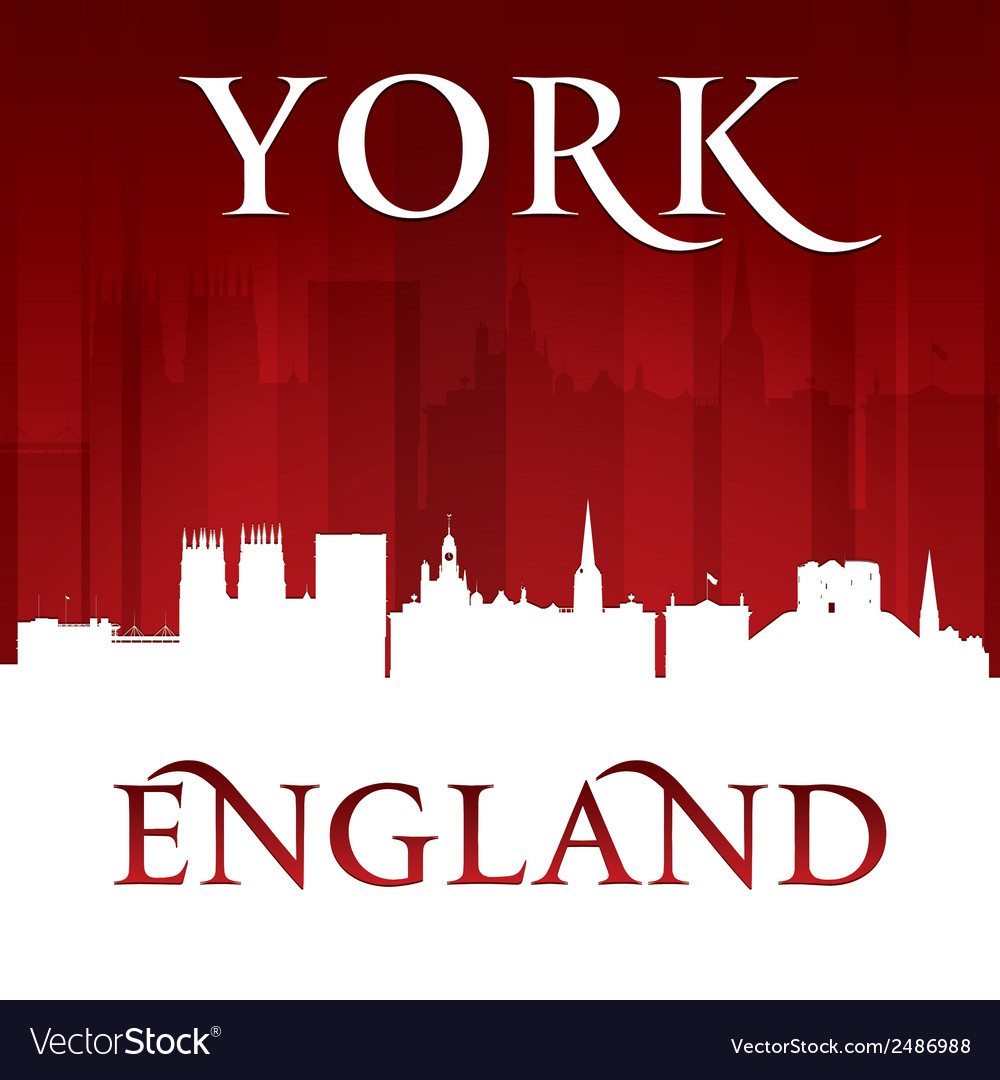 York england city skyline silhouette vector | Price: 1 Credit (USD $1)