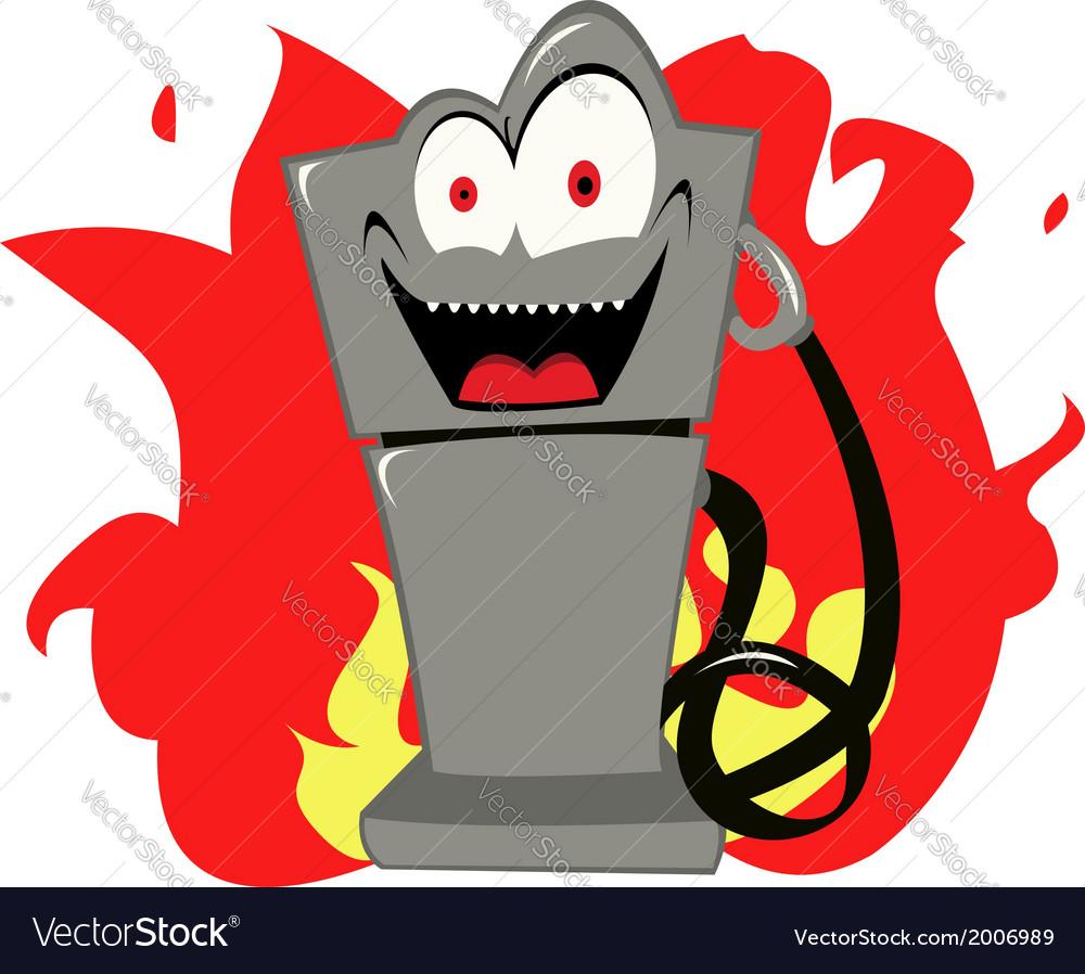 Evil gas vector | Price: 1 Credit (USD $1)
