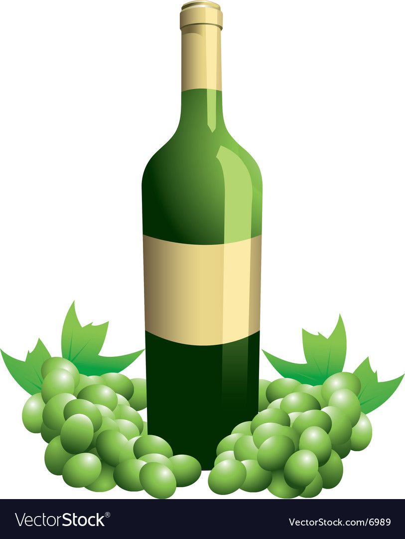 Wine bottle vector | Price: 3 Credit (USD $3)