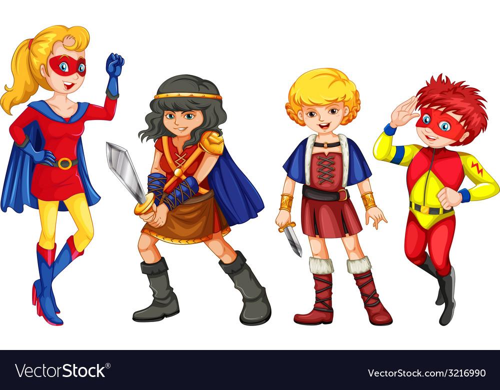 Superhero vector | Price: 3 Credit (USD $3)