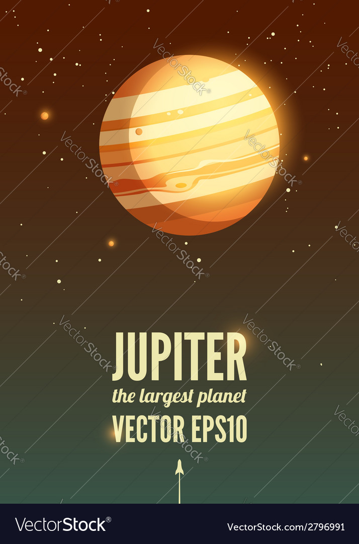 Jupiter vector | Price: 1 Credit (USD $1)