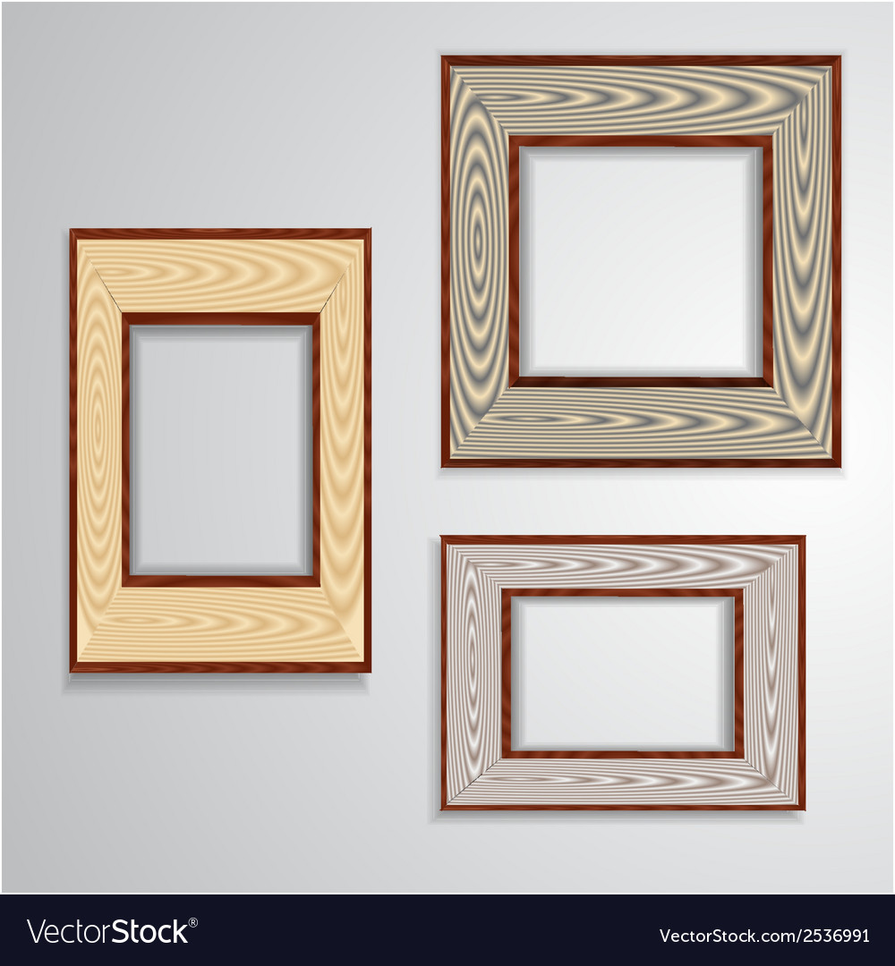 Vintage isolated blank frame vector | Price: 1 Credit (USD $1)