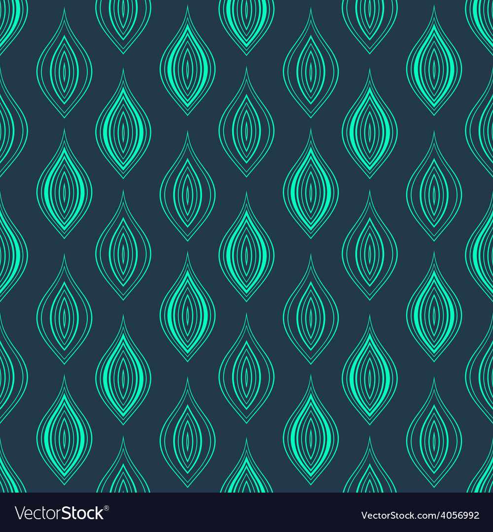 Abstract vintage seamless background simple vector | Price: 1 Credit (USD $1)