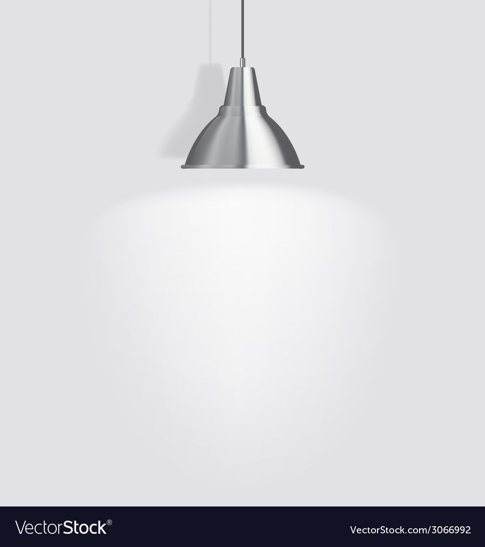 Ceiling lamp vector | Price: 1 Credit (USD $1)