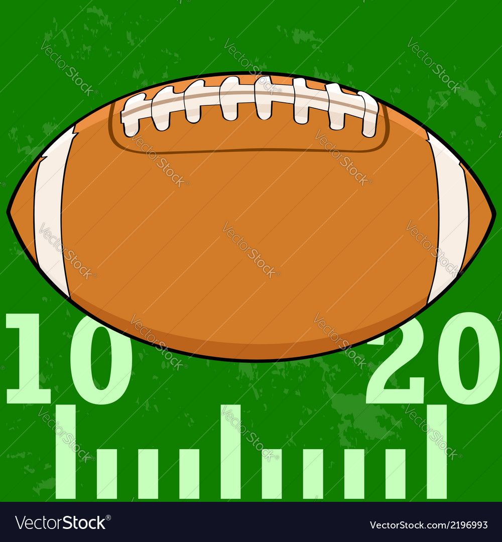 Football field icon vector | Price: 1 Credit (USD $1)