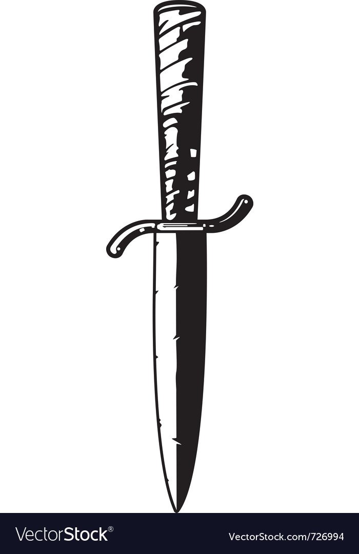 Antique dagger vector | Price: 1 Credit (USD $1)