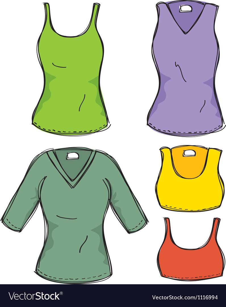 Female clothing vector | Price: 1 Credit (USD $1)