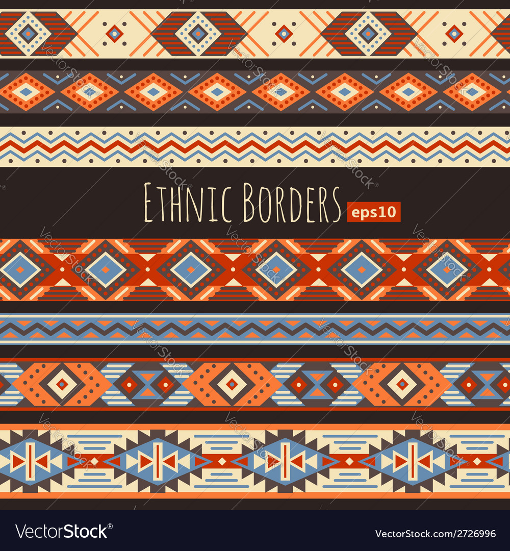 Ethnic borders vector | Price: 1 Credit (USD $1)