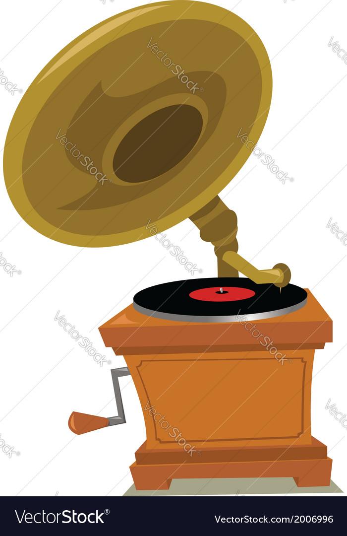 Grammophone vector | Price: 1 Credit (USD $1)