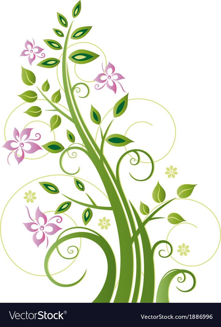 Spring tree flowers vector   Price: 1 Credit (USD $1)