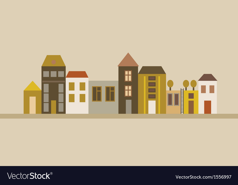 City street vector | Price: 1 Credit (USD $1)