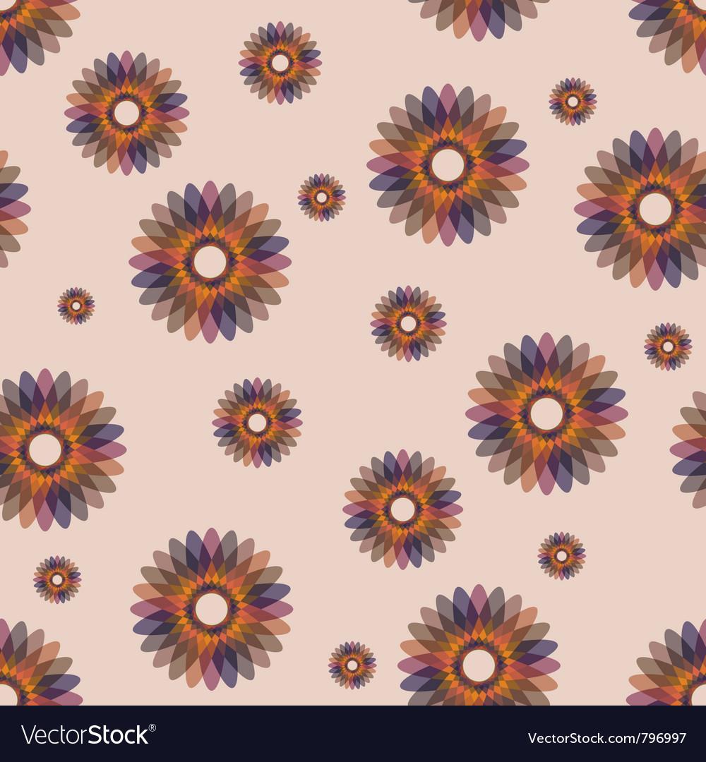 Ornate seamless pattern vector | Price: 1 Credit (USD $1)