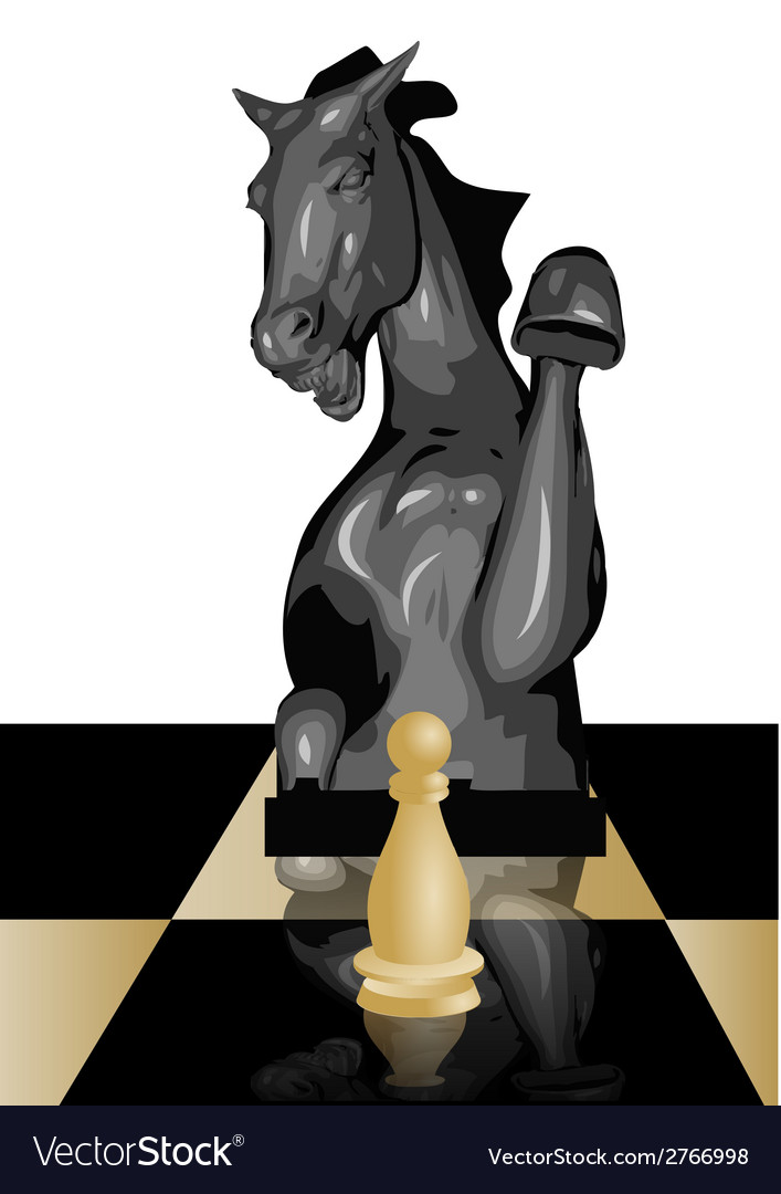 Conceptual chess game vector | Price: 1 Credit (USD $1)